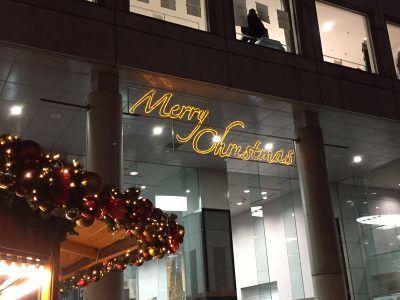 梅田スカイビル クリスマスマーケット