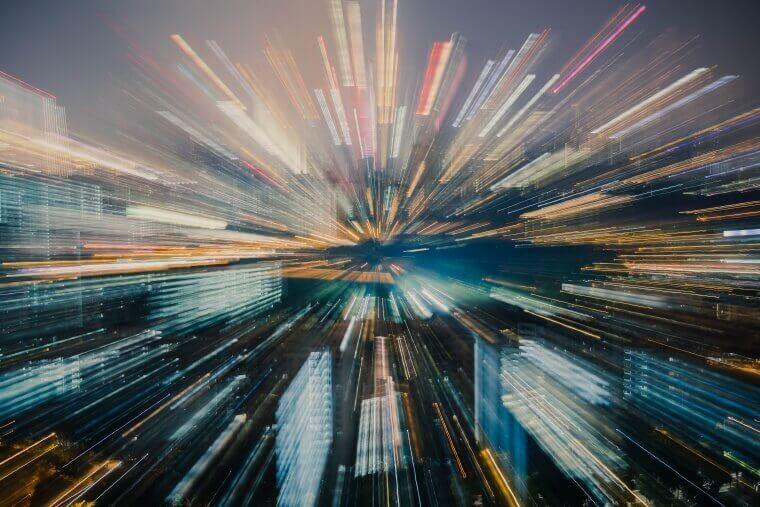 通信スピードの画像